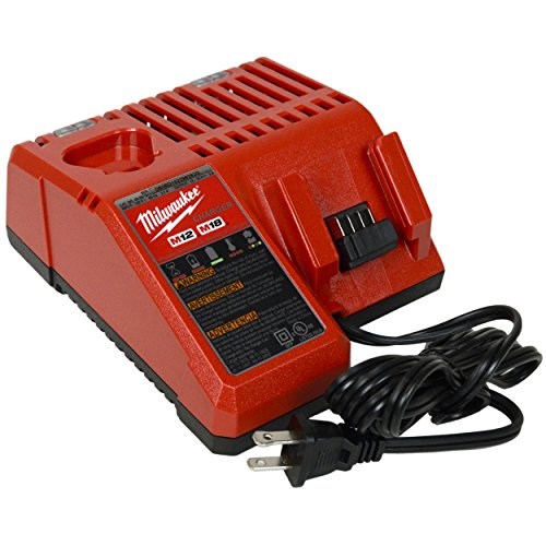 Product Image 3: Milwaukee 48-59-1812 M12/M18 Battery charger & (2) 48-11-1815 18V 1.5Ah Batteries