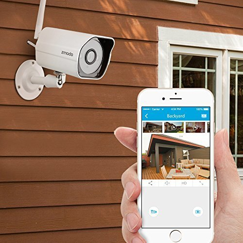Zmodo 720p HD Outdoor Home Wireless Security Surveillance Video Camera System (1...