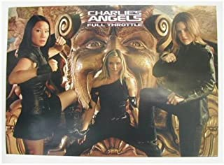 Charlies Angels Poster Full Throttle Lucy Lui Charlie`s