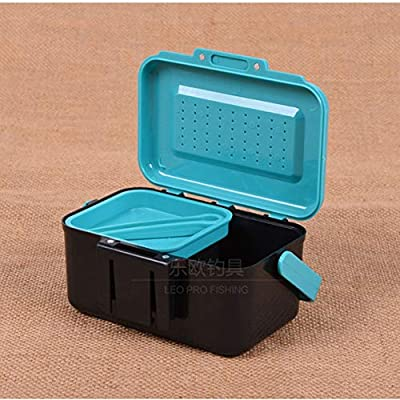 Fishing Lure Boxes, LEO Fishing Lure Boxes Bait Tackle Plastic Storage Handle Lure Case Lure Box for Vest Fishing Accessories Storage Containers from Wafalano