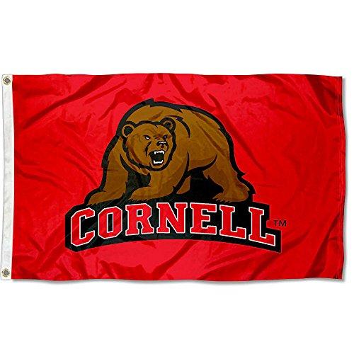 Big Red Cornell University Large College Flag