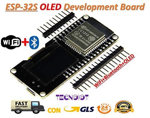 1 pack M5Stack Extensible Micro Module de contr/ôle WiFi Bluetooth ESP32 Kit de d/éveloppement int/égr/é LCD ESP-32 2 pour Arduino
