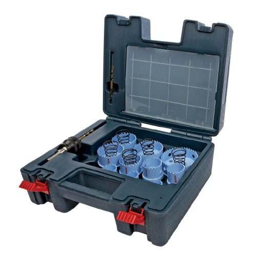 Bosch HSM23-PieceM 23-Piece Sheet Metal Hole Saw Set