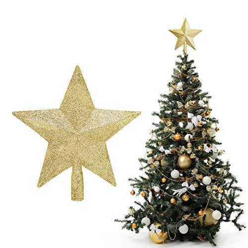BELLE VOUS Estrella para Arbol de Navidad - 20x19 cm Estrell