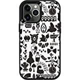 Skinit Decal Phone Skin Compatible with OtterBox Defender Case for iPhone 12 Pro Max - Officially Licensed Disney Alice in Wonderland Silhouette Design