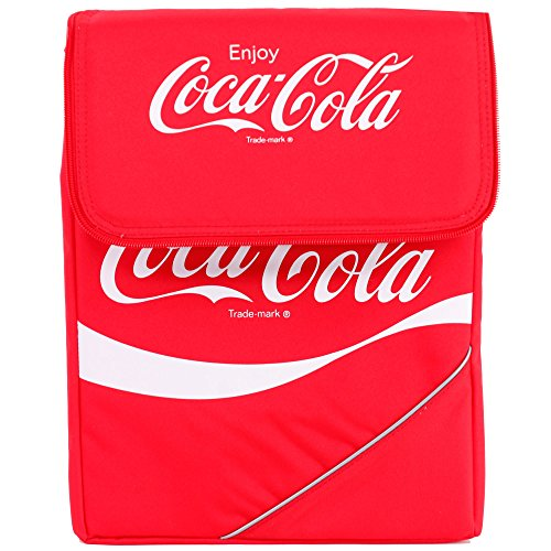 Coca-Cola-Kuehltasche-FALTBAR-classic-14-liter-Kuehlbox-Coka-Cola (Rot)