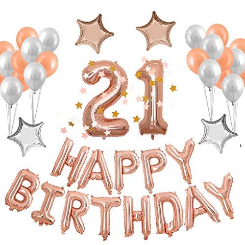 21st Birthday Party Supplies Amazon Com