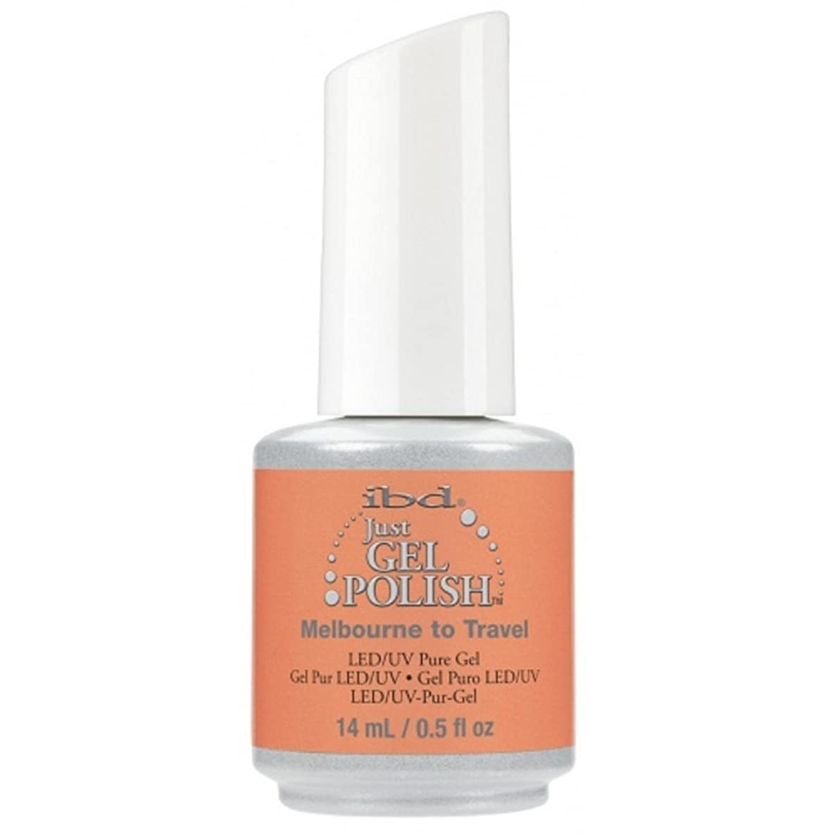 にじみ出るフラップ結果ibd Just Gel Nail Polish - Summer 2017 Destination Colour Collection - Melbourne to Travel - 14ml / 0.5oz