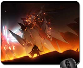 Xenogear Burning Mouse Pad Mousepad