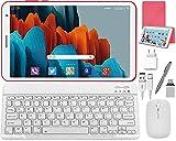 Tablet Android 10 Quad-Core 1.6GHz 1280 x 800 IPS Pantalla HD, 3GB RAM y 32 GB ROM | 128GB Escalable, Tableta con...