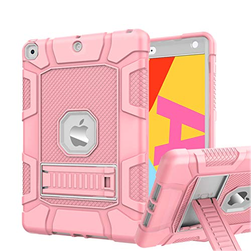 Rantice Case for iPad 7th/8th Generation, iPad 10.2 Case, Hybrid Shockproof Rugged Drop Protection...