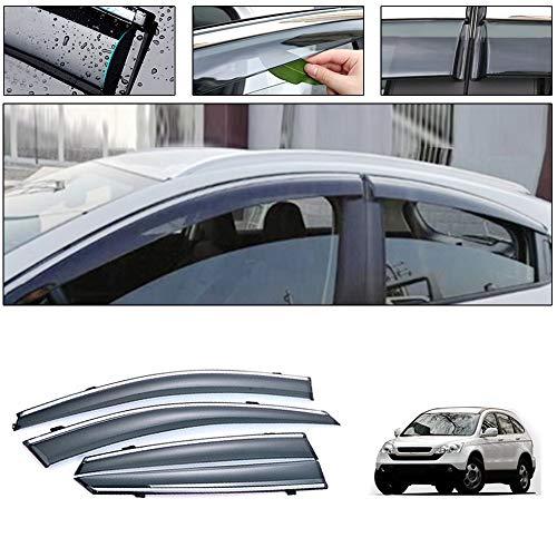 saitake Windabweiser Für Honda CR-V 2008-2011 Autofenster Visier Sonne Regen Rauchabzug Schatten Klebeband Außenvisiere