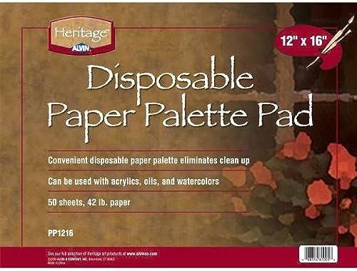 marca de lujo Patrimonio PP1216 12 pulgadas x x x 16 pulgadas Papel desechable Paleta Pad  hasta un 65% de descuento