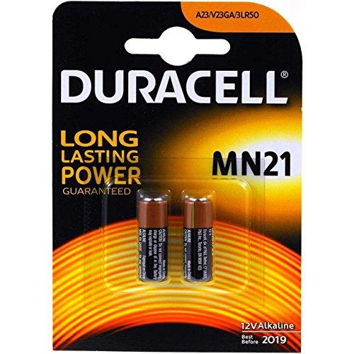 Batterie Duracell Typ A23 2er Blister, Alkaline, 12,0V
