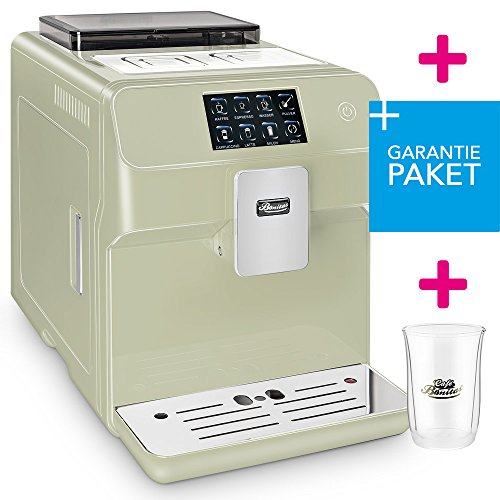☆ONE TOUCH☆ 50€ sparen✔ Kaffeevollautomat + RundumSorglosPaket (Garantiepaket)✔ 1 Thermoglas Gratis✔ CAFE BONITAS✔ KingStar Lime✔ Touchscreen✔ Timer✔ 19 Bar✔ Kaffeeautomat✔ Latte Macchiato✔ Kaffee✔ Espresso✔ Cappuccino✔ heißes Wasser✔ Milchschaum✔
