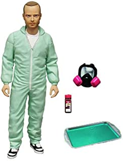 Mezco Breaking Bad Jesse Pinkman PX Exclusive Blue Hazmat 6-in Action Figure