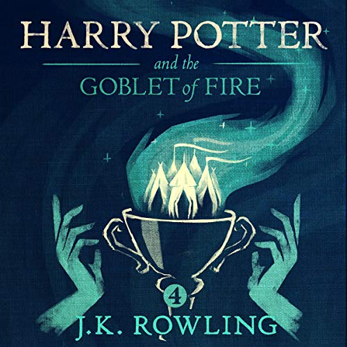 『Harry Potter and the Goblet of Fire, Book 4』のカバーアート