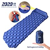 haumelo Isomatte Selbstaufblasend Matratzen Luftmatratze Camping Ultraleicht aufblasbare Schlafmatte...