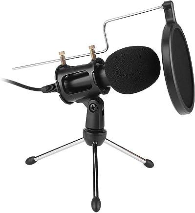 Vobor Microfono da PC Kit-Computer/Microfono Portatile Condensatore Microfono Studio Karaoke Registrazione Microfono per Podcast, Registrazione, Chat Online con Supporto per treppiedi - Trova i prezzi più bassi