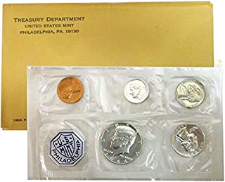 1964 P US PROOF set 5 PCS In Original packaging from US mint Proof