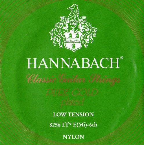 Hannabach 652646 Klassikgitarrensaiten Serie 825 Low Tension Spezialvergoldung - E6