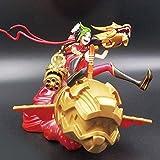 Huhu LOL Modelo de animación The Jinx Modelo Estatua Escritorio decoración 17cm