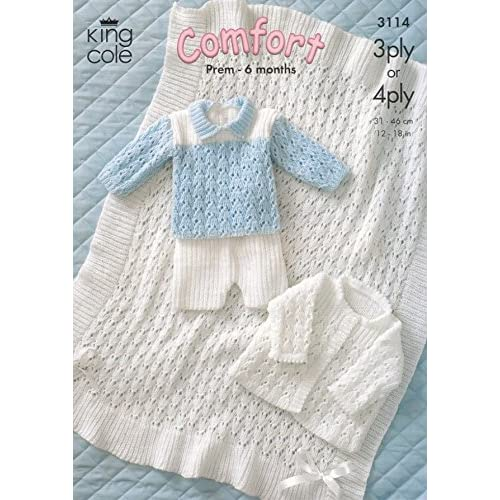 89345d7cb 4 Ply Knitting Pattern Baby  Amazon.co.uk