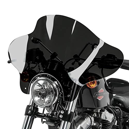 Windschild Batwing für Kawasaki EN 500 dunkel getönt