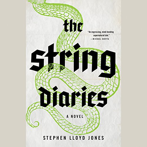 The String Diaries audiobook cover art