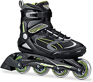 Bladerunner by Rollerblade Advantage Pro XT Men's Adult Fitness Inline Skate, Black and Green, Inline Skates, 11