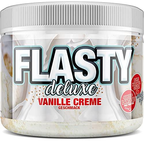 sinob Flasty Deluxe Geschmackspulver (Vanille Creme) mit vielen echten Chunks (Karamell-Stückchen) 1 x 250g - more then just a flavour - Kalorienarmes Flavour Pulver mit nur 8 kcal pro Portion