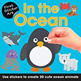 In the Ocean: Use Stickers to Create 20 Cute Ocean Animals (First Sticker Art)