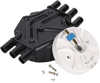 10452457 10452458 Distributor Cap and Rotor for Chevrolet & GMC Trucks V6 4.3L Vortec DR475 DR331 D465 D328A DR475T (Distributor Cap and Rotor)