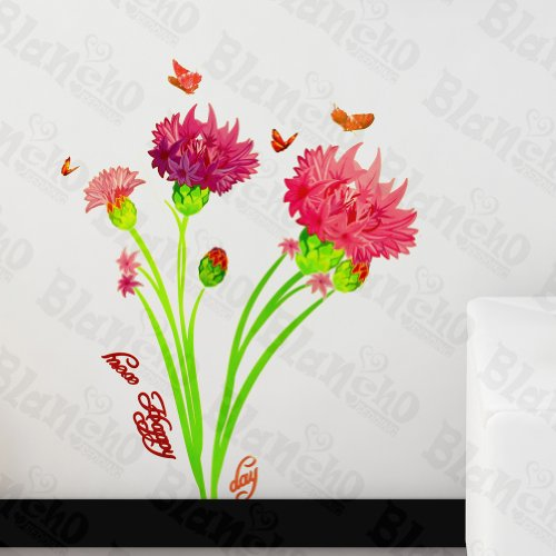 Blancho Carnation Rêves pour Patchs Rouge – Stickers muraux Stickers Décoration intérieure