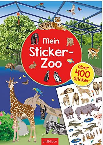 Mein Sticker-Zoo: Stickerheft für Tier- und Tierpark-Fans ab 4 Jahren (Mein Stickerbuch)