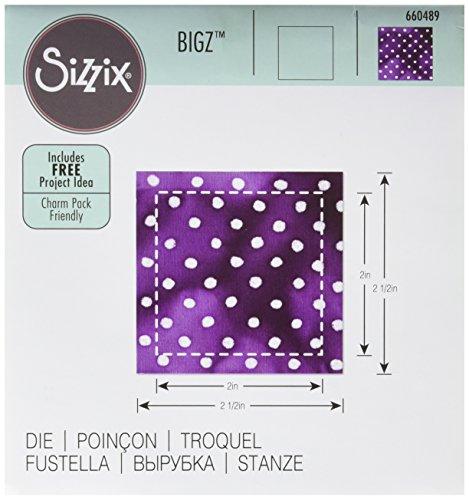 660489Sizzix Bigz Piazza Finished, ABS Plastic, Multi-Colour, 17.4x 14x 1.9cm