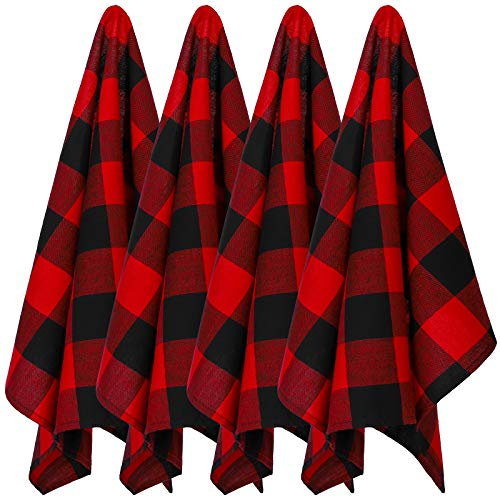 Top 10 Best Selling List for red plaid kitchen towels