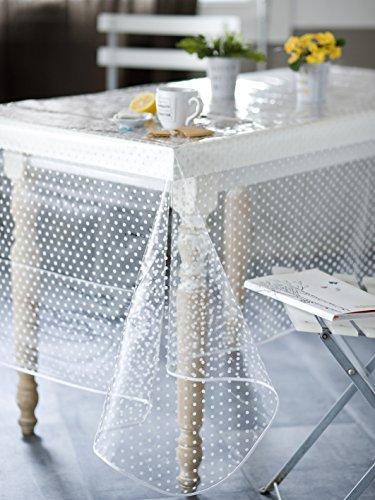 CALITEX Agnos Mantel PVC Transparente, PVC, Transparente, 200x140 cm