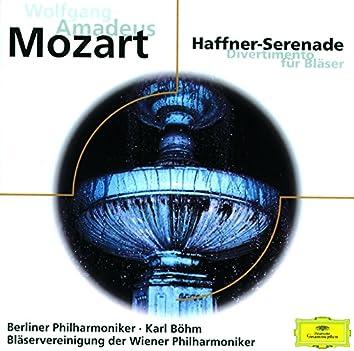 """Mozart: Serenade K.250 """"Haffner"""" - Divertimento K.186"""