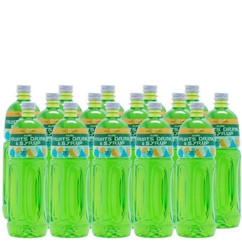 【業務用】 ライムシロップ (ライムフレーバーシロップ) 1L ペットボトル×15本