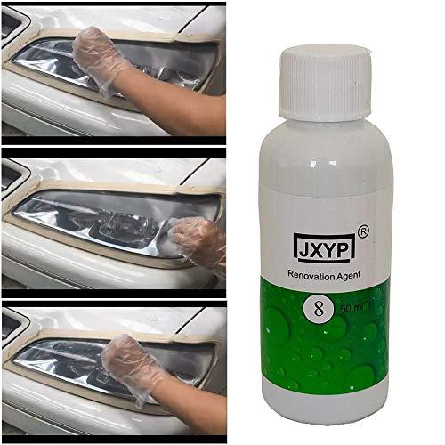 JooDaa Neues 50ml Auto Scheinwerfer Reparatur Liquid Lampe Renovierungsmittel Auto Scheinwerfer Reparatur Kit Polish Lens Restorer