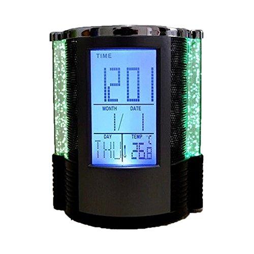 E SupportY™ New Multifunktions Stifthalter Stifteköcher Digitales Thermometer Schreibtisch Organisator Für Büro Hause