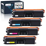 OfficeWorld Compatible Toner Cartridge Replacement for Brother TN315 TN-315 TN310 for Brother MFC-9970CDW HL-4570CDW HL-4150CDN MFC-9560CDW MFC-9460CDN (Black, Cyan, Magenta, Yellow), 4 Pack