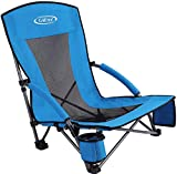 Best Festival Chairs - G4Free Low Sling Beach Camping Concert Folding Chair Review