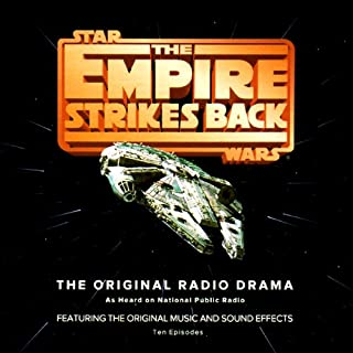 Star Wars: The Empire Strikes Back (Dramatized)                   By:                                                                                                                                 George Lucas                               Narrated by:                                                                                                                                 Mark Hamill,                                                                                        Anthony Daniels,                                                                                        Billy Dee Williams,                   and others                 Length: 4 hrs and 21 mins     261 ratings     Overall 4.6
