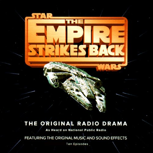 Star Wars: The Empire Strikes Back (Dramatized) cover art