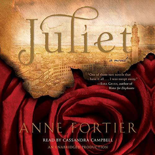 Juliet audiobook cover art
