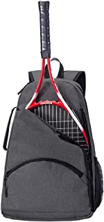 QEES Tennis Racket Holder Bag for Women, Tennis Backpack, Large Capacity Tennis & Racquet Sports Duffle Bag, 36L Racket Holder Equipment Bag for Tennis, Racquetball, Squash GJB1129