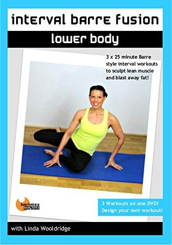 Barlates Body Blitz Interval Barre Fusion Lower Body DVD - Linda Wooldridge