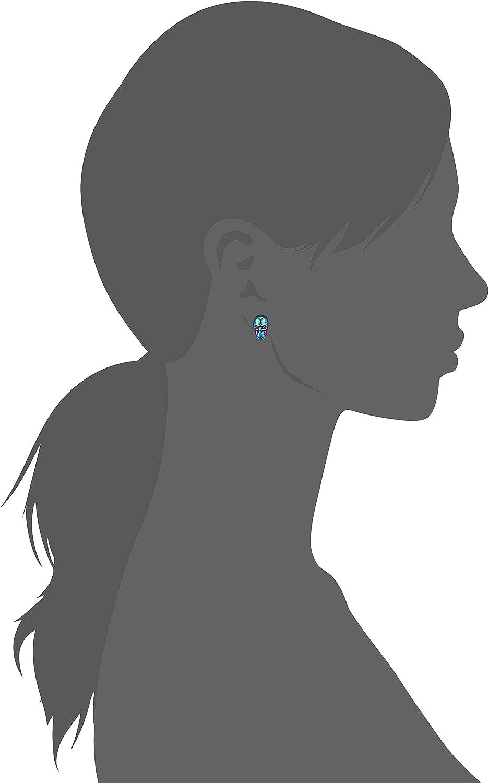 Betsey Johnson Skull Non-Matching Stud Earrings